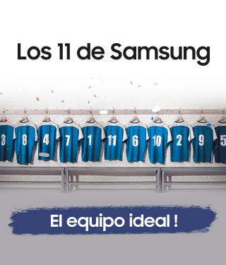 Los 11 de Samsung